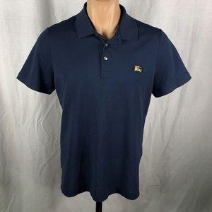 Burberry XL Polo Shirt Blue Short Sleeves